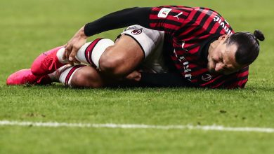 Photo of Zlatan Ibrahimovic's injury less serious than first believed