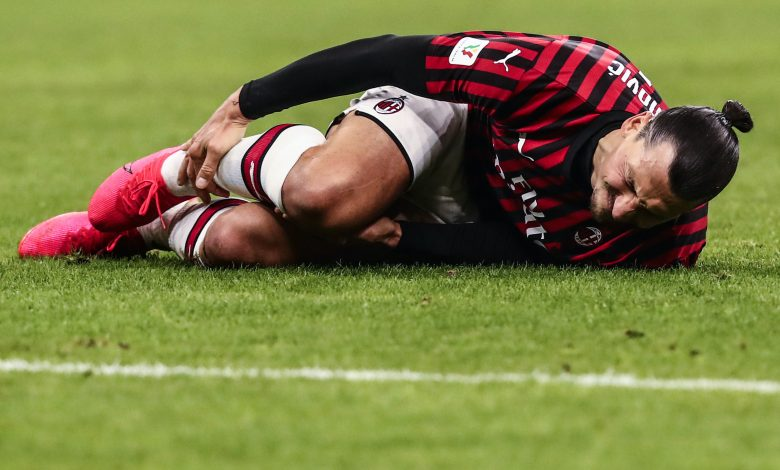 Zlatan Ibrahimovic's injury less serious than first believed