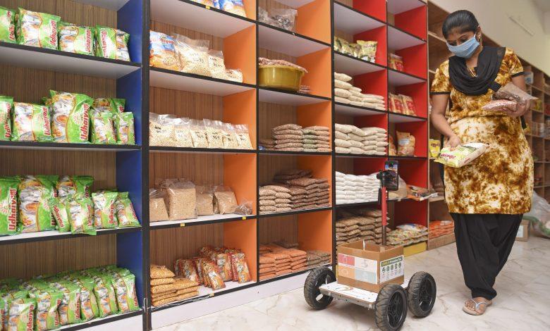 Robot shopper in Coronavirus times