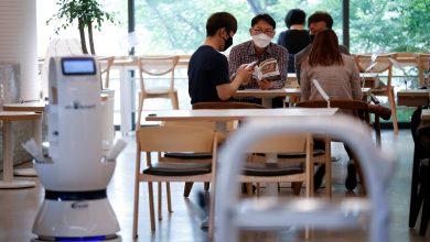 Photo of Robot Café promotes social distancing in South Korea