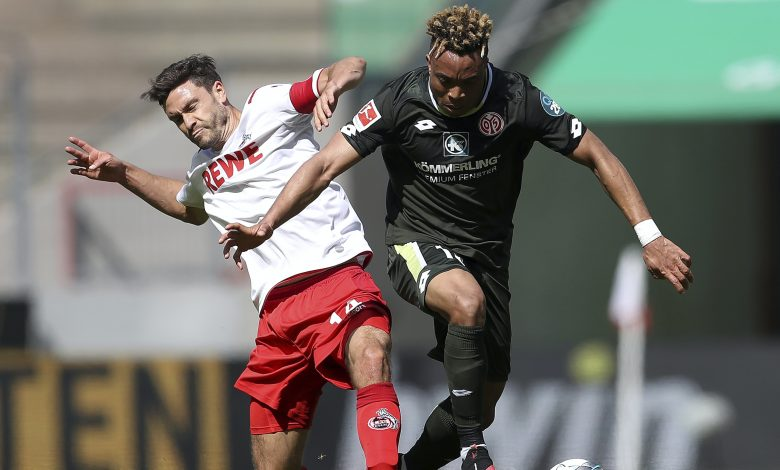 Cologne waste two-goal lead in draw with Mainz