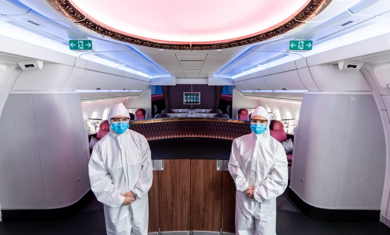 Qatar Airways: PPE suits for cabin crew among other safety measures