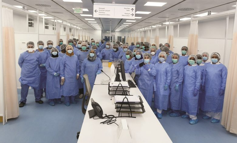 Field hospital for workers opens in Industrial Area
