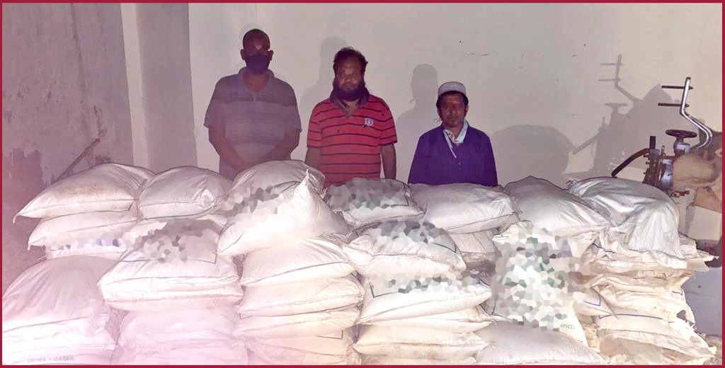 Three arrested in Al Wakra with expired food items