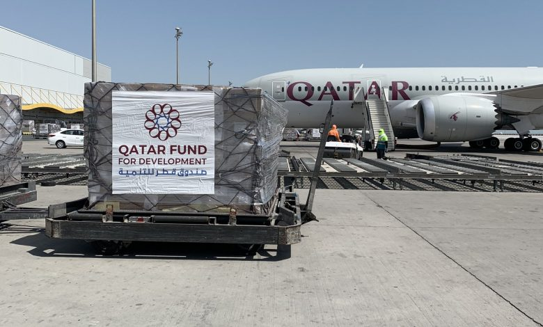 Qatar sends urgent medical aid to 3 countries for containing Covid-19