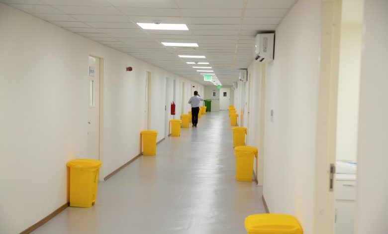 Qatar opens 504-bed field hospital to treat Covid-19 patients