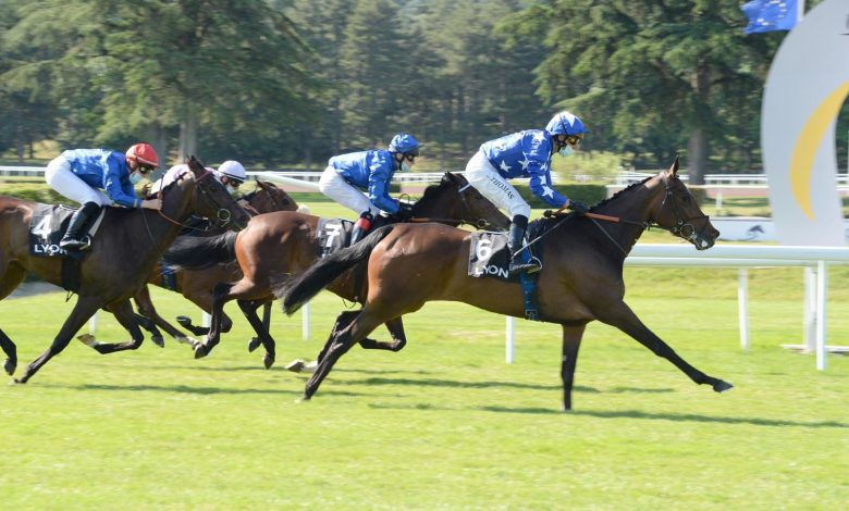 """Filly """"Listen To Me"""" wins Prix Paul Dugas"""