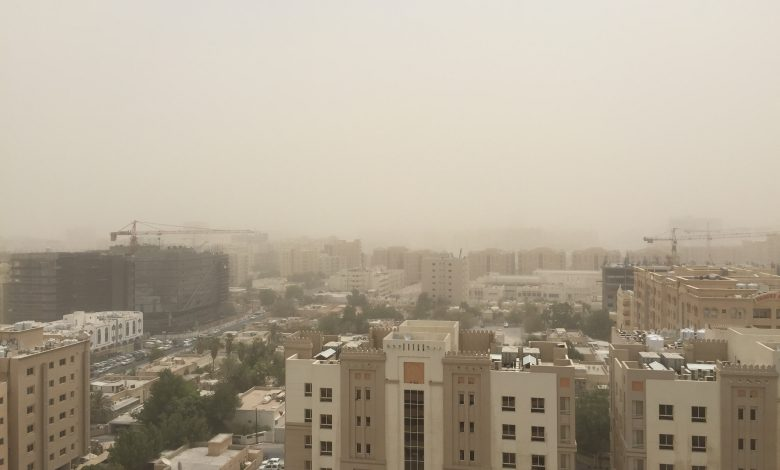 Windy, dusty conditions expected from Monday