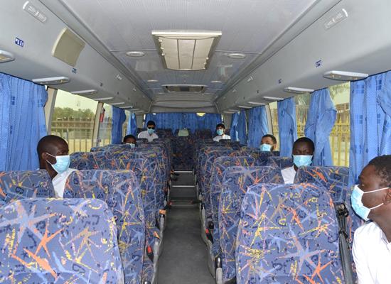 Students of Religious Institute take exam under preventive and precautionary measures