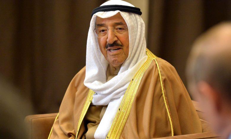 HH the Amir Sends Message to Amir of Kuwait