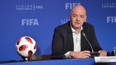 "Photo of FIFA asks leagues to use ""common sense"" over Floyd protests"