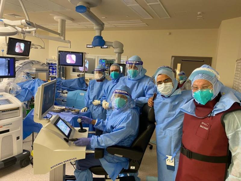 HMC hospital performs robotic surgery on Covid-19 patient using high-tech laser technology