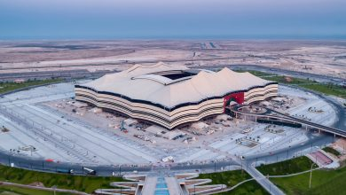 Photo of Work continues at the World Cup stadiums in Qatar