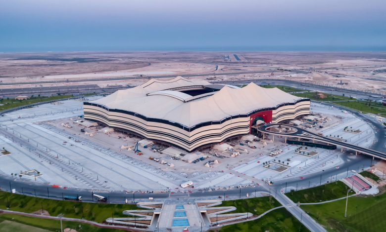 Work continues at the World Cup stadiums in Qatar