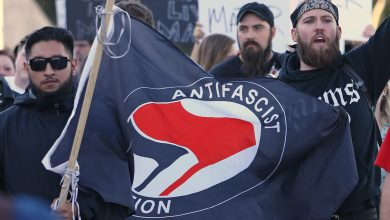 "Photo of Trump: The United States will declare ""Antifa"" a terrorist organization"
