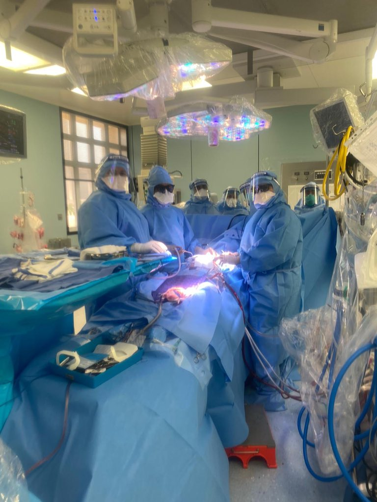 Heart Hospital experts perform life-saving open heart surgery on COVID-19 patient