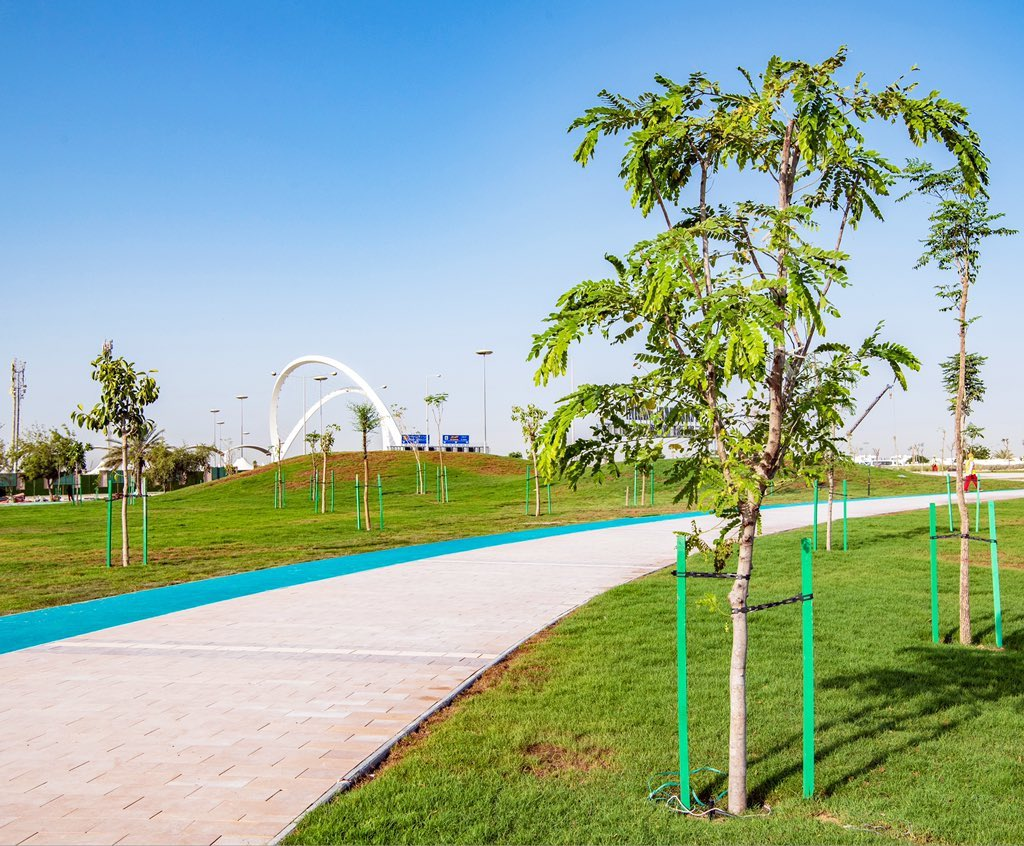 Completion of Main Works of 5/6 Park Project