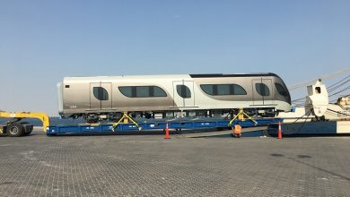 Photo of The first set of additional trains arrives for the Doha Metro