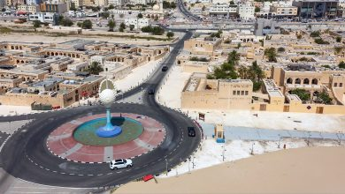 Photo of Partial opening of Al Jabal Intersection on Wakra Road