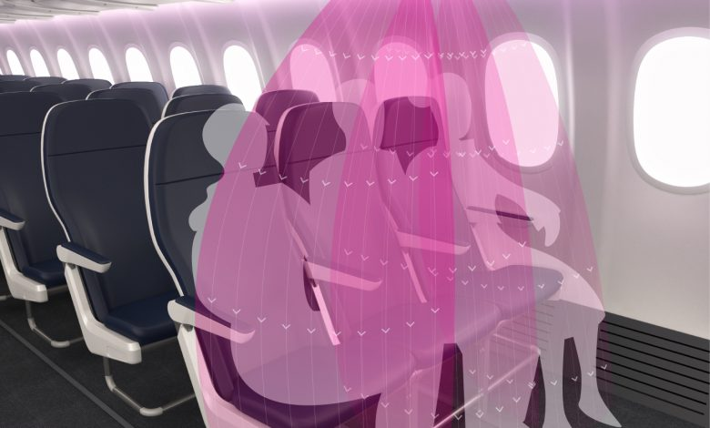 A smart innovation to protect aircraft passengers from infection