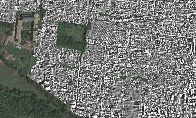 Buried Roman city revealed with ground-penetrating radar