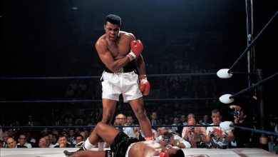 Photo of Muhammad Ali .. Boxing legend, activist against racism