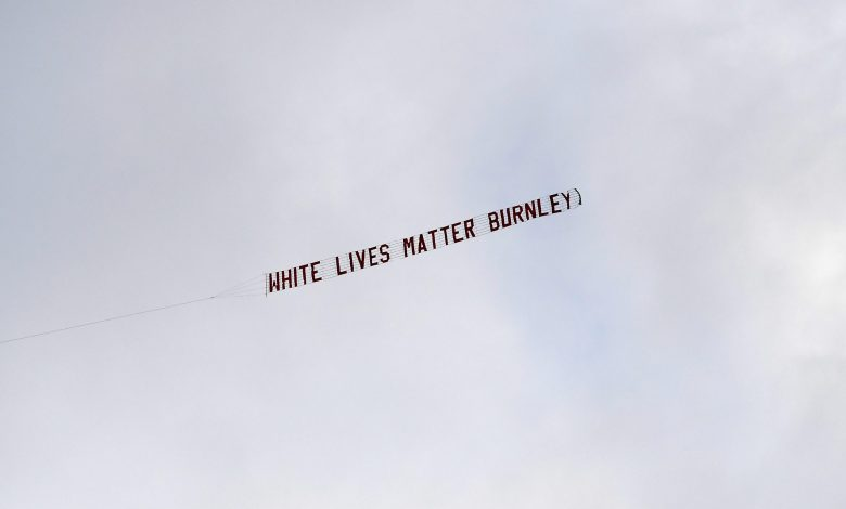 'White Lives Matter' plane stir controversy in the Manchester City match