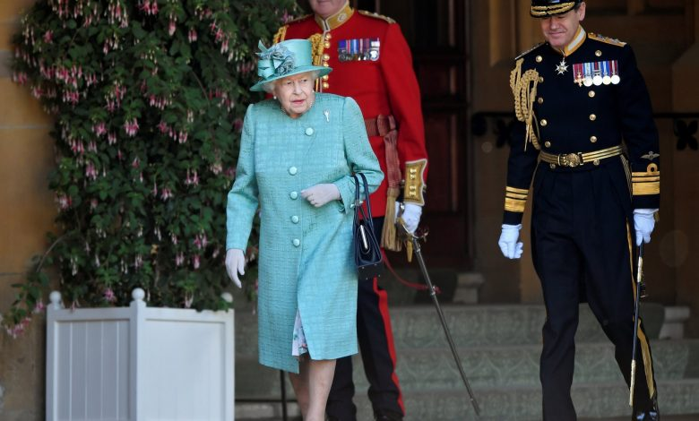 The Queen of England joins first official video call
