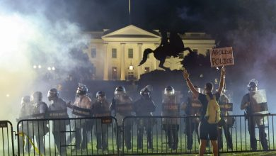 Photo of After the protests against Floyd killing approached the White House, Trump was moved to a secret hideout