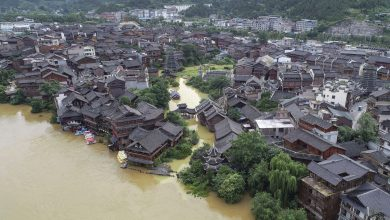 Photo of China: Torrential rains buried 9 people in landslides