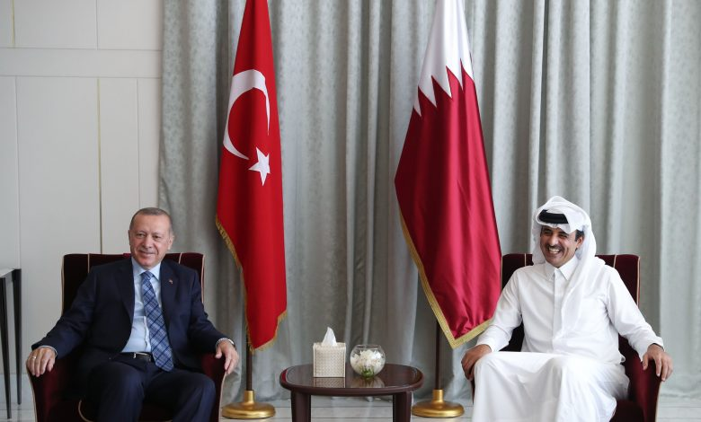 HH the Amir, Turkish President discuss strategic relations between the two countries