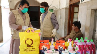 Photo of QC delivers aid to those affected by Coronavirus in Pakistan