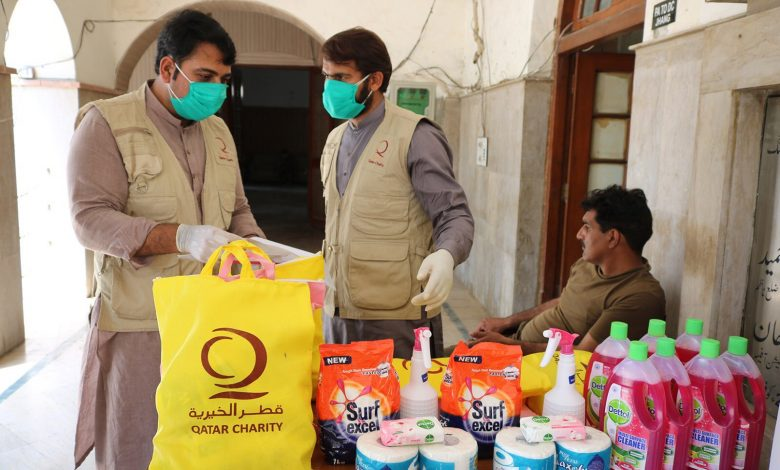 QC delivers aid to those affected by Coronavirus in Pakistan