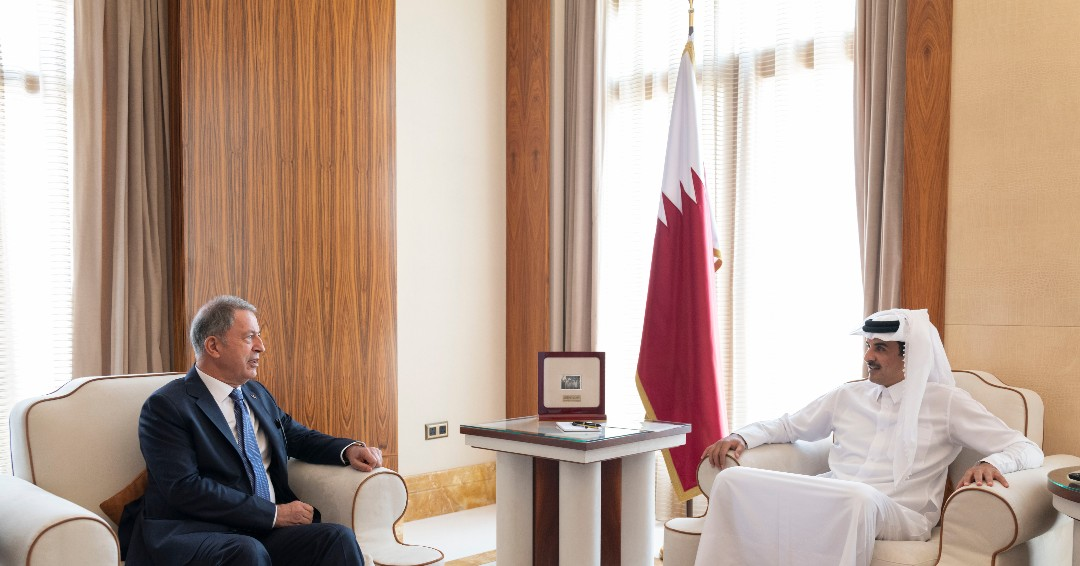Amir meets Turkish Defense Minister