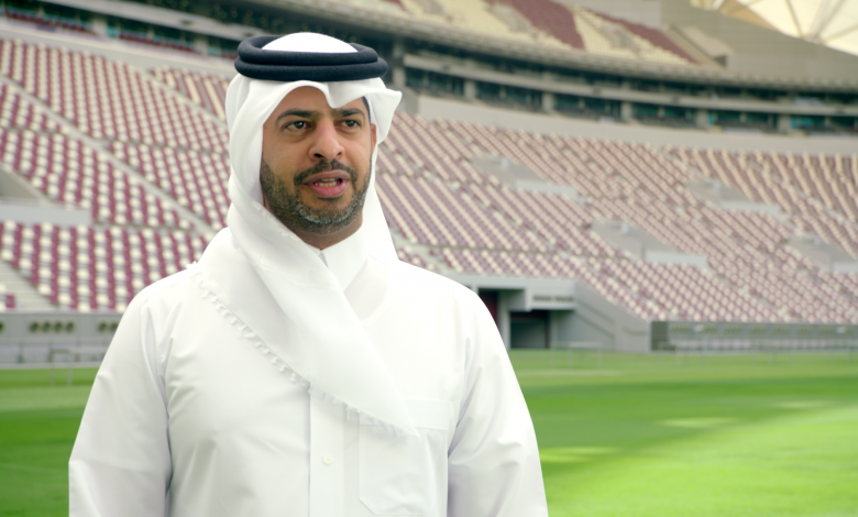Nasser Al-Khater reveals the stadium that will host our first match in the 2022 World Cup