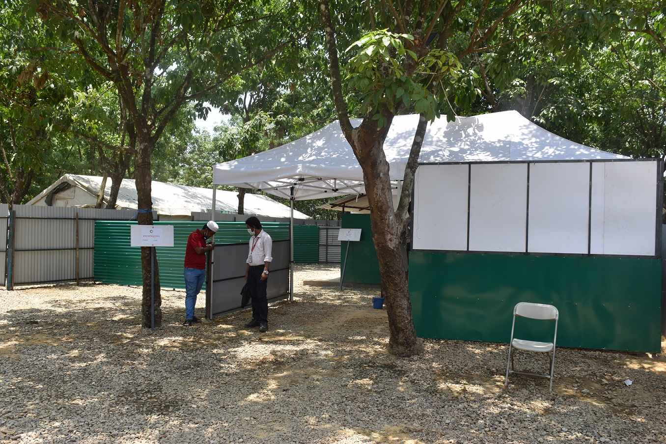 QRCS opens coronavirus isolation facility at Bangladesh refugee camps