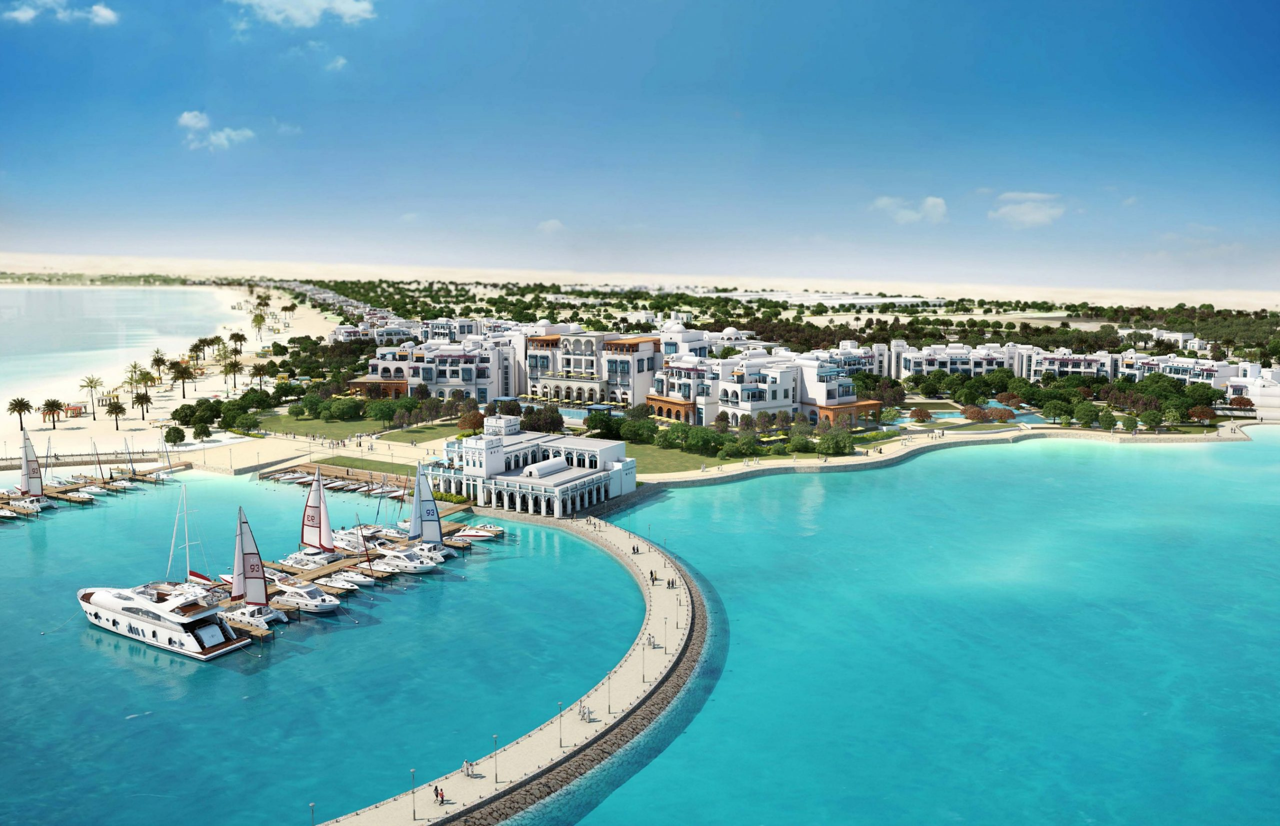 Salwa Beach Resort starts receiving bookings soon