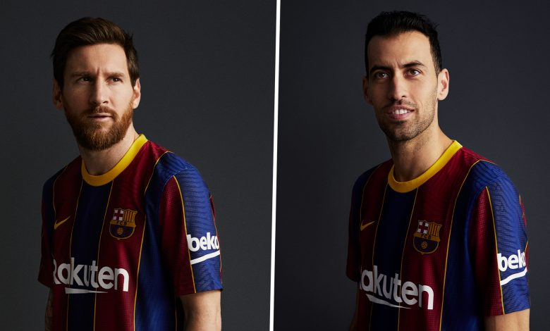 Barcelona reveals the new jersey