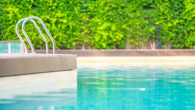 Which swimming pools reopen in Qatar and what are the entry fees?