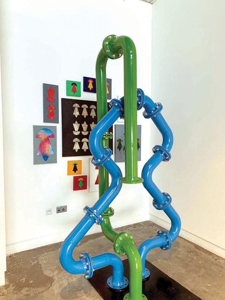 Part 2 of 2030 art exhibition begins