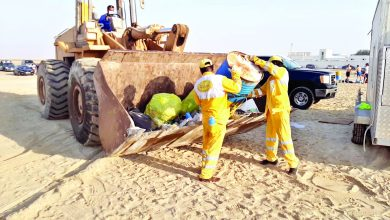Photo of Ministry to take legal action against hygiene law violators .. 124 tons of waste removed from beaches