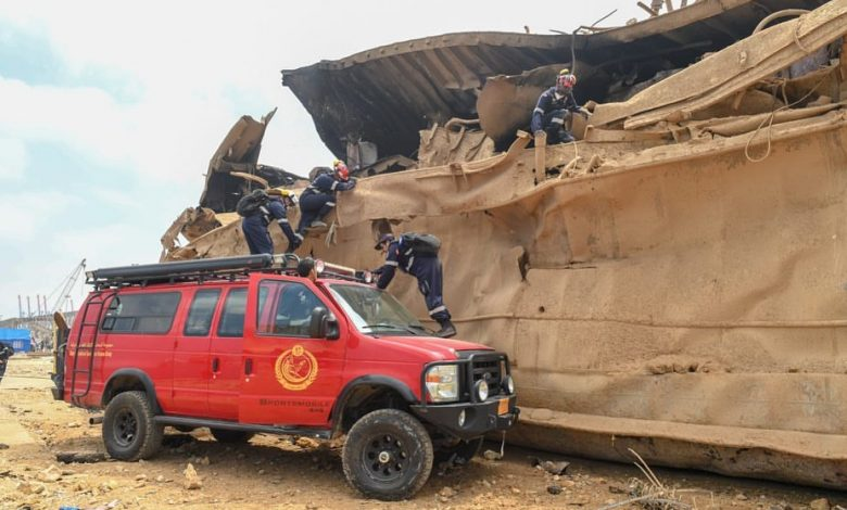 Lekhwiya's Search and Rescue Team commences operation in Lebanon