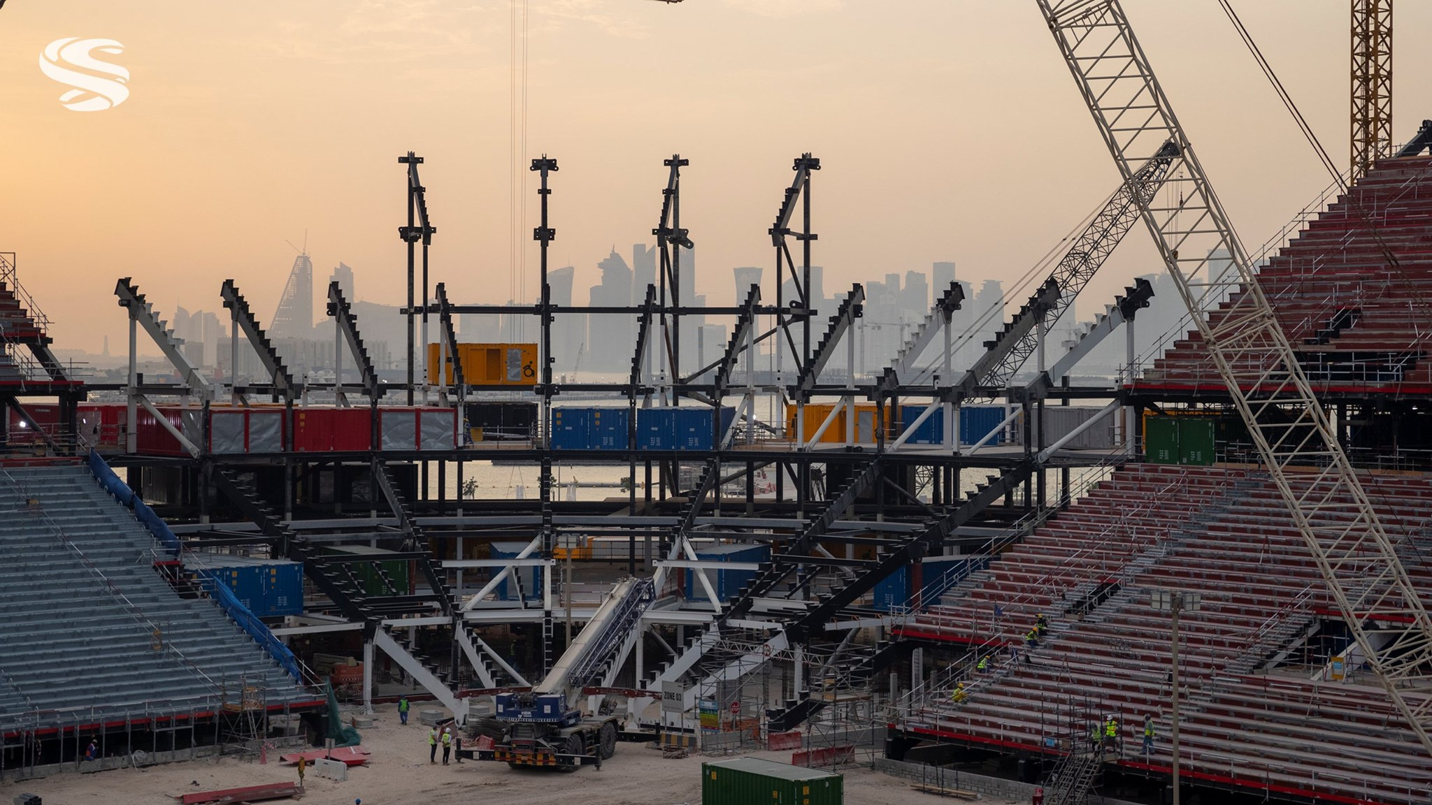 Ras Abu Aboud Stadium making steady progress: SC
