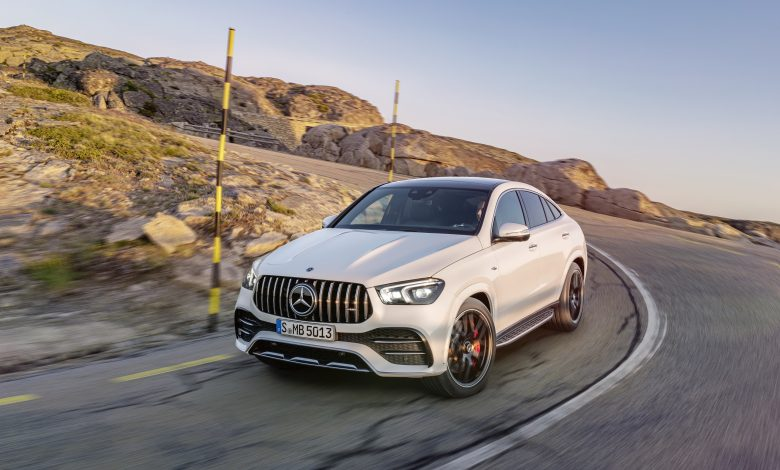 The new Mercedes-AMG GLE 53 4MATIC+ Coupé .. Dynamic and athletic model for different terrains