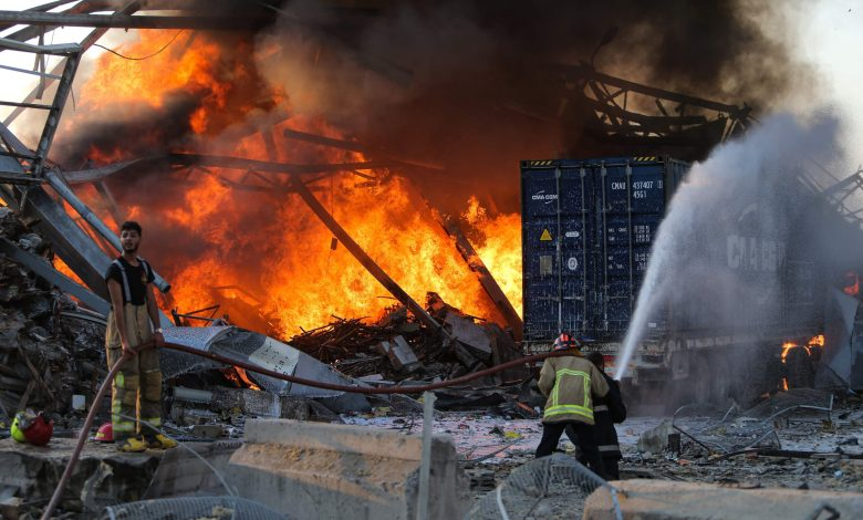 Lebanese Public Security Director Reveals Cause of Beirut Explosion