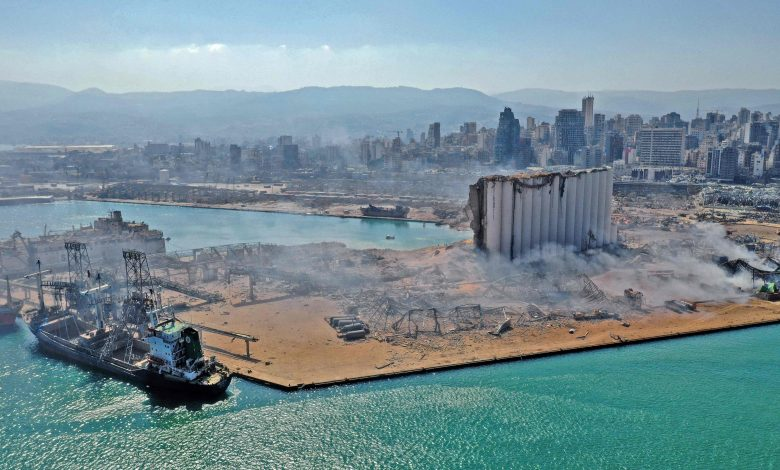 Beirut port resumes operations one week after the blast