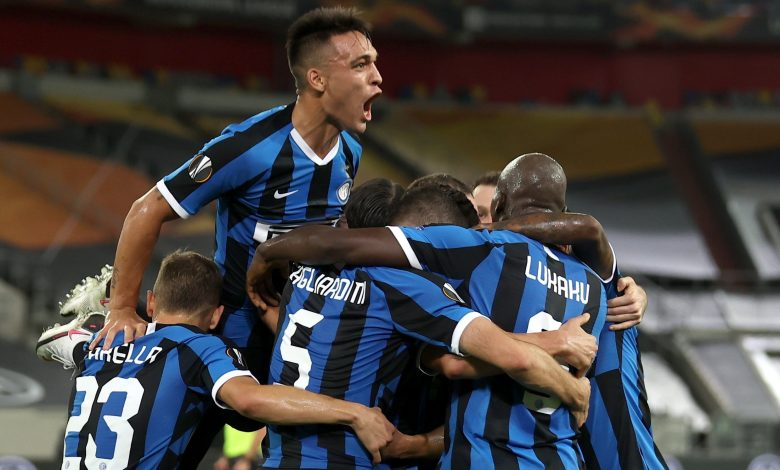 Inter Milan beat Shakhtar to reach Europa League final