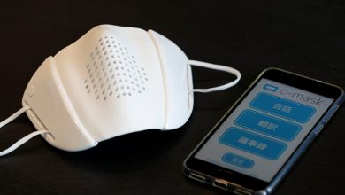 Photo of Smart Mask translates speech into 8 languages