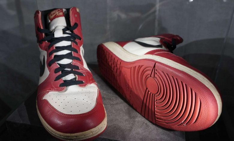 Michael Jordan's sneakers sell for $615,000, new record
