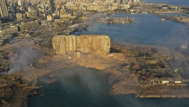Photo of Beirut Port explosion created a 43-metre deep crater